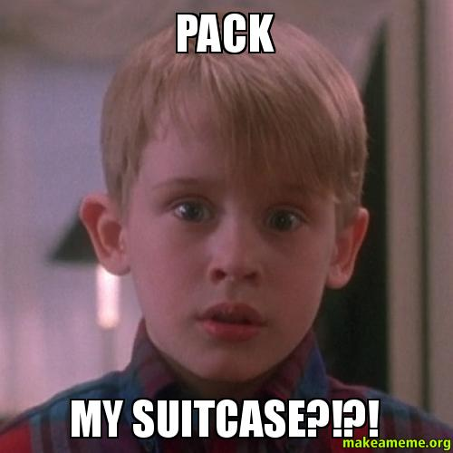 Pack-my-suitcase