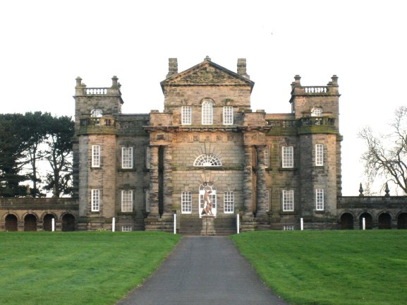 Seaton_Delaval_Hall_-_main_block_from_N
